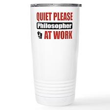Philosopher Work Thermos Mug