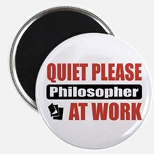 Philosopher Work Magnet