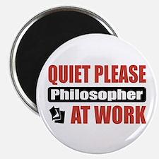 "Philosopher Work 2.25"" Magnet (10 pack)"