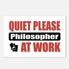 Philosopher Work Postcards (Package of 8)