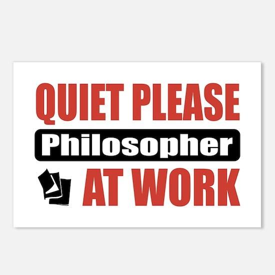 Philosopher Work Postcards (Package of 8)
