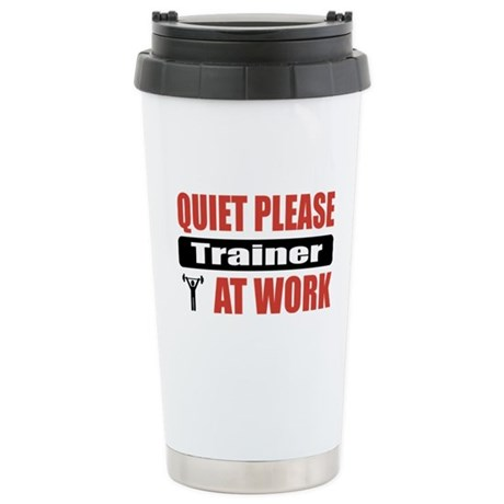 Trainer Work Stainless Steel Travel Mug