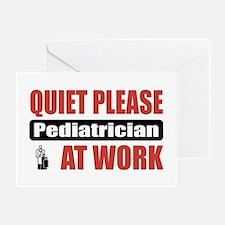 Pediatrician Work Greeting Card