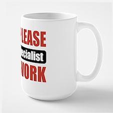 Payroll Specialist Work Large Mug