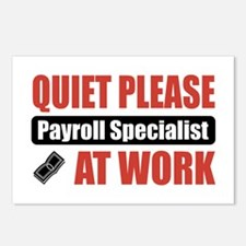 Payroll Specialist Work Postcards (Package of 8)