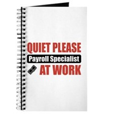 Payroll Specialist Work Journal