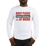 Patent Attorney Work Long Sleeve T-Shirt