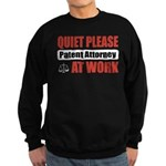 Patent Attorney Work Sweatshirt (dark)