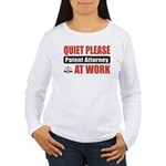 Patent Attorney Work Women's Long Sleeve T-Shirt