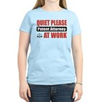 Patent Attorney Work Women's Light T-Shirt