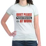 Patent Attorney Work Jr. Ringer T-Shirt
