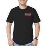 Patent Attorney Work Men's Fitted T-Shirt (dark)