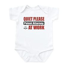 Patent Attorney Work Infant Bodysuit