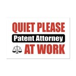 Patent Attorney Work Mini Poster Print