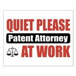Patent Attorney Work Small Poster