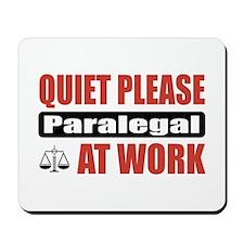 Paralegal Work Mousepad