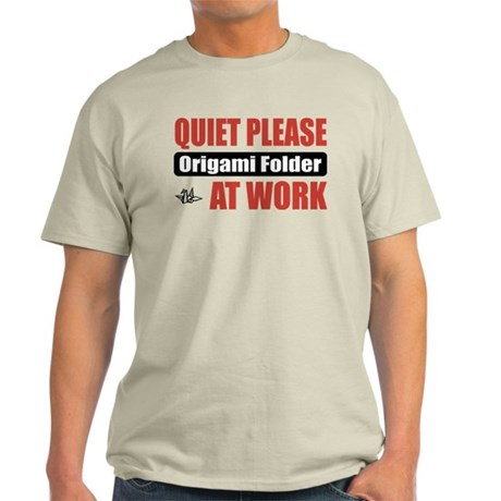 Origami Folder Work Light T-Shirt