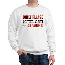 Origami Folder Work Sweatshirt