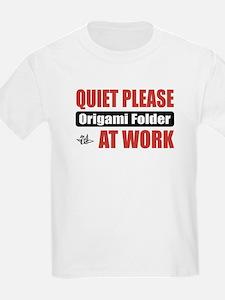Origami Folder Work T-Shirt