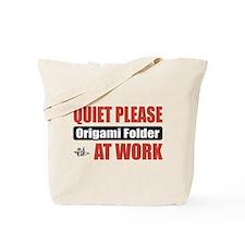 Origami Folder Work Tote Bag