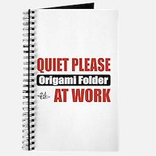 Origami Folder Work Journal