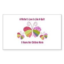Unique Mother's Day Gift Rectangle Decal
