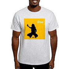 ipee Ash Grey T-Shirt
