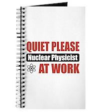 Nuclear Physicist Work Journal