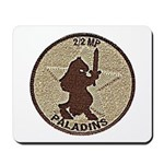 2/2 Military Police Paladins Mousepad