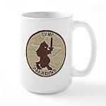 2/2 Military Police Paladins Large Mug