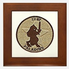 2/2 Military Police Paladins Framed Tile
