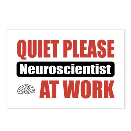 Neuroscientist Work Postcards (Package of 8)