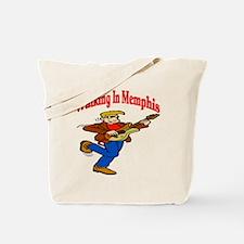 Walking In Memphis Tote Bag