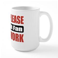 NASCAR Fan Work Mug