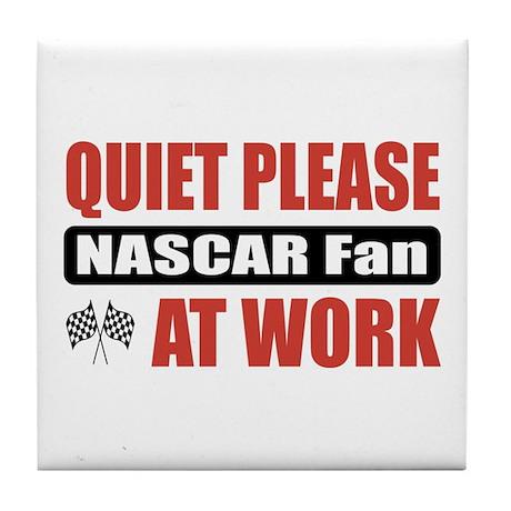 NASCAR Fan Work Tile Coaster