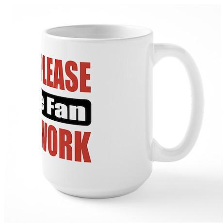 Movie Fan Work Large Mug