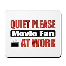 Movie Fan Work Mousepad