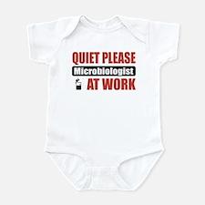 Microbiologist Work Infant Bodysuit