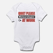Meteorologist Work Infant Bodysuit