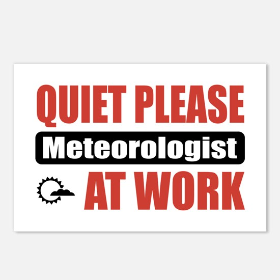 Meteorologist Work Postcards (Package of 8)