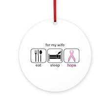 Wife ESHope BCA Ornament (Round)