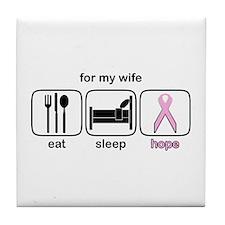 Wife ESHope BCA Tile Coaster