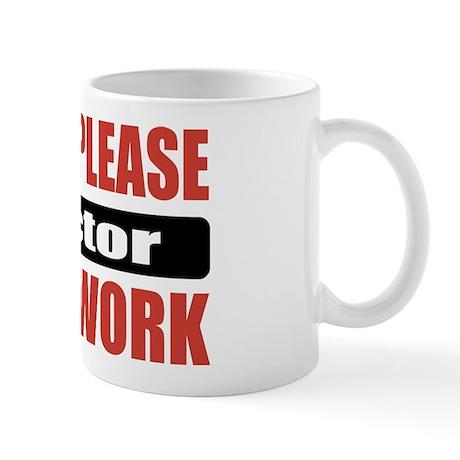 Doctor Work Mug