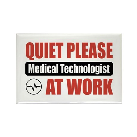 Medical Technologist Work Rectangle Magnet