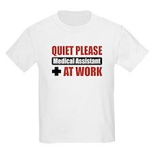 Medical Assistant Work T-Shirt