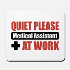 Medical Assistant Work Mousepad