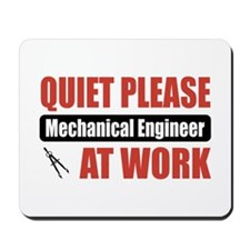 Mechanical Engineer Work Mousepad
