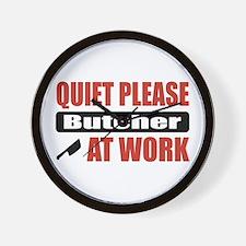 Butcher Work Wall Clock