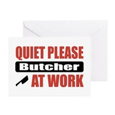 Butcher Work Greeting Cards (Pk of 20)