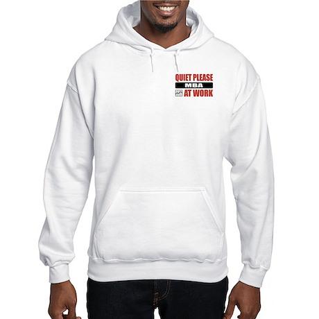 MBA Work Hooded Sweatshirt